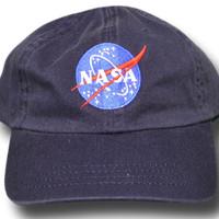 Topi Pilot Baseball Nasa Space Meatball patch bordir Cap