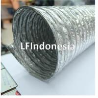 """Aluminium Selang Flexible Ducting Exhaust Fan 5"""" (12.5 cm) - pjg 5m"""