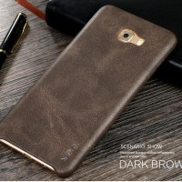 SOFTCASE LEATHER Samsung Galaxy C9 Pro case kulit back cover casing hp