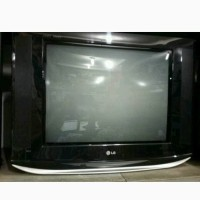 LG 21FU6AD Pearl Black TV 21 inch CRT - Tabung Kaca Flat - Layar Datar