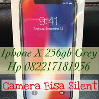 Apple Iphone X 256gb Grey Grs International 1Tahun