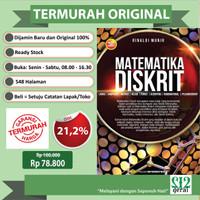 TERMURAH ORIGINAL Buku Matematika Diskrit Rinaldi Munir Revisi Terbaru