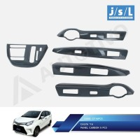 Toyota Calya Panel Carbon Interior 5 Pcs JSL
