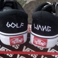 954/Sepatu Sneakers/ vans osholl golfwang#sepatu murah solo#