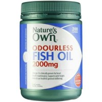 Natures Own Odourless Fish Oil 2000mg - 200caps (HOT)