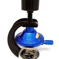 Jual DESTEC COM 201-M Regulator Kompor Gas dengan Meter Murah