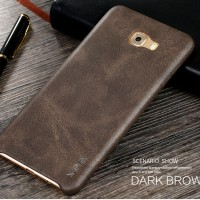 X-LEVEL VINTAGE Samsung Galaxy C9 Pro case hp leather kulit back cover