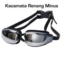 Kacamata Renang Minus (Myopia) anti fogging - embun - Swim Goggles