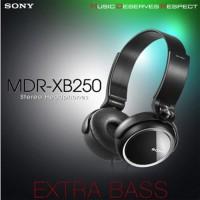 SONY Headset Headphone MDR XB-250 Asli Ori