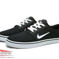 Sepatu Casual Nike SB Portmore CNVS 723874-003 Sneakers Ori