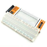 Harga mb 102 mb102 breadboard 830 point solderless pcb bread project | antitipu.com