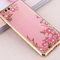Xiaomi Mi6 Mi 6 soft case casing hp cover ultra thin bunga TPU FLOWER