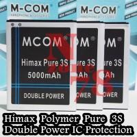 Baterai Himax Pure 3s Double Power IC Protection Garansi 1 Tahun
