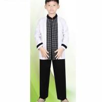Baju Koko Anak Setelan Bahan Cotton Pakaian Anak ts 4360 Zeintin b5f94e971f