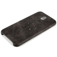 Samsung Galaxy J7 Plus 2017 case leather kulit cover X-LEVEL VINTAGE