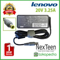 Adaptor Charger Lenovo ORIGINAL 20v 3.25a ThinkPad R61i T60 T60p T61