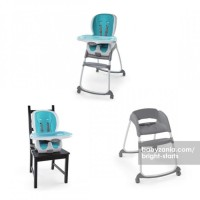 Bright Starts Ingenuity Trio 3 in 1 SmartClean High Chair Aq T2909