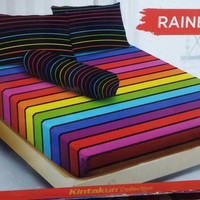 Sprei Kintakun uk 180x200 Motif Rainbow