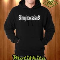 KEREN!!! Jaket SKINNY INDONESIAN 24 YOUTUBER Hoodie Sweater