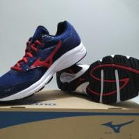 Sepatu Running Mizuno Crusader Blue (original)
