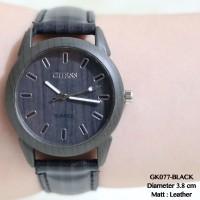 Jam tangan guess wanita motif kulit wood termurah grosir fossil import