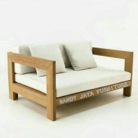 sofa minimalis, kursi tamu minimalis, kursi santai, kursi tamu jati