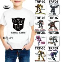 Kaos Dewasa Motif Transformer / Kaos Gambar Transformer / Kaos Robot