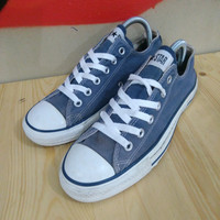 Sepatu Converse CT All Star Low Navy Second Original