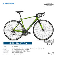Road bike Allround ORBEA ORCA M20-Pro Ultegra Green black 47