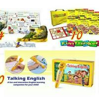 Grolier Fun Thinkers + Talking English + Aku Ingin Tahu Mengapa