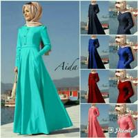 Maxy Aida 5 Warna/Gamis Casual/Fashion Muslim
