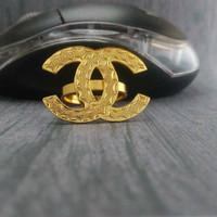 cincin chanel lapis emas 24k