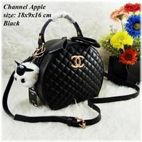 Tas Fashion Wanita Chanel Apel Apple Selempang Slingbag Handbag