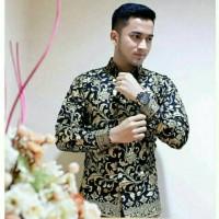 Kemeja Hem Baju Batik Pria Lengan Panjang Prodo Masa Kini