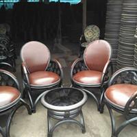 Meja kursi ban bekas