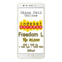 INDOSAT OOREDOO Paket Internet Data FREEDOM COMBO L 30hari IM3 Mentari