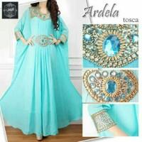 model baju muslim gamis terbaru dan modern A21 kaftan eliza dewasa