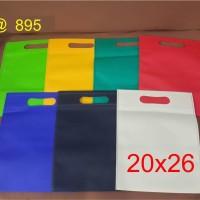 Goodie bag / tas spunbond oval 20 x 26