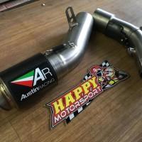 Knalpot Austin Racing GP2R carbon titan all for Kawasaki Zx10 2015