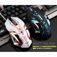 RAJFOO Gaming Mouse Laser USB LED RGB Model 1 Laptop PC Komputer Gamer