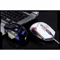 RAJFOO Gaming Mouse Laser USB LED RGB Model 5 Laptop PC Komputer Gamer