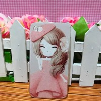 iPhone 4 / iPhone4s - Softcase Casing Custom Case Cover Girls Cewek