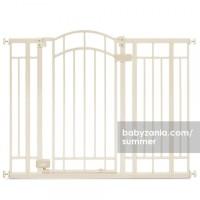 Summer Multi-Use Decorative Extra Tall Walk-Thru Gate - Beige MURAH