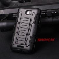 Sony Xperia E4 Future Armor Hardcase + Belt Holster Case Casing Cove