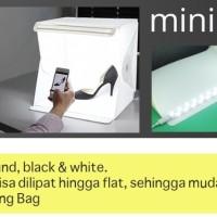 Mini Photo Studio Box Portable Lampu LED size Medium Murah