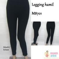 45f83eeb24ad0 M8701 Legging hamil rayon spandex Abu/Hitam/Coklat/Moka/Biru