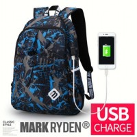 Tas Backpack branded Mark Ryden Escolar bukan merk ripcurl samsonite