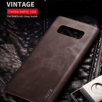 SOFTCASE LEATHER Samsung Galaxy Note 8 case kulit back cover casing hp