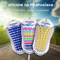 XX041701017 Lazy Shoelace Silicone /Tali Sepatu Silikon (20pcs/pack)