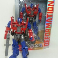 Mainan Robot Transformer Optimus Prime